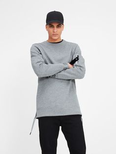 Jack & Jones by core 12119166 jumper top sweat crew neck men's long sleeve top Jack Jones, Winter Wear, Long Sleeve Tops, Jumper, Crew Neck, Pullover, Sweatshirts, Sweaters, Core
