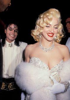 Michael Jackson y Madonna, 1991