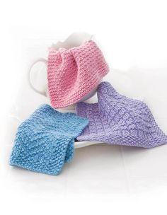 Loom Knit Dishcloths