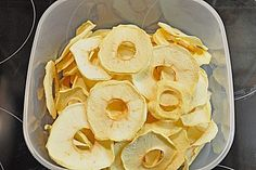 Getrocknete Apfelringe (Rezept mit Bild) von Lotar_G | Chefkoch.de
