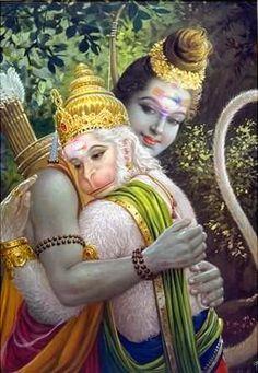 Shiva and Hanuman SHIVA IS GOD!!!
