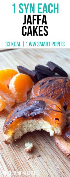 1 Syn Each Jaffa Cakes | Pinch Of Nom Slimming World Recipes 33 kcal | 1 Syn | 1 Weight Watchers Smart Points