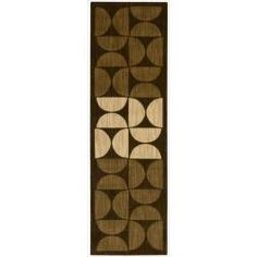 @Overstock - Vivid brown and beige color palette is densely power loom woven from 100-percent New Zealand wool. Specific designs call on hand carving to further accentuate the designs. This hand-finished product reflects the highest standards of craftsmanship.http://www.overstock.com/Home-Garden/Calvin-Klein-Home-Metropolitan-Brown-Rug-23-x-76/6719248/product.html?CID=214117 $120.99