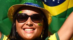 Vote Most Beautiful Supporters of World Cup 2014 - Brazil World Cup 2014, Fifa World Cup, Lionel Messi, Sunglasses Women, Most Beautiful, Image, Football, Brazil, Fortaleza