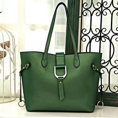 Green Leather Tote bag  Quality leather women bag by GemOutlook 4f5fa1065169c