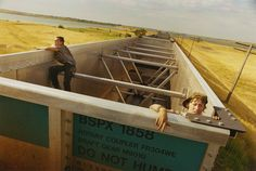 Photographer Mike Brodie Captures Freight Train Hitchhikers