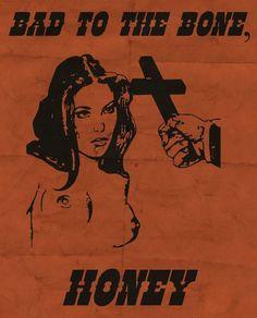 Room Posters, Poster Wall, Bad To The Bone, Arte Cyberpunk, Arte Obscura, Grunge Art, Funky Art, Vintage Horror, Pulp Art
