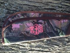 Monogrammed Gun Case on Etsy, $45.00