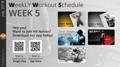Weekly Workout Schedule, Dog Pounds, August 5th, Ugly To Pretty, Fool Gold, Week 5, Fun Workouts, Being Ugly, Bullying