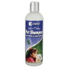 Kenic SnoFlake White Dog Shampoo  17 oz ** This is an Amazon Affiliate link. Be sure to check out this awesome product.
