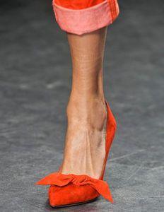 Tangerine Heels - Isabel Marant