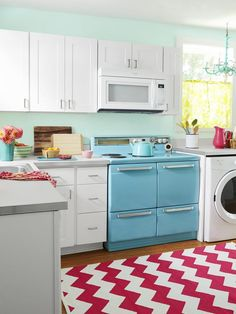 Love the whole house in this series..Kitchen  - From Gross to Great: An Island Home Makeover on HGTV