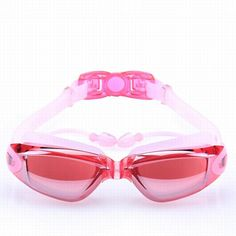 goggles anti-fog anti UV waterproof glasses Men Women Professional Silicone swimming goggles Comes with earbuds HW168