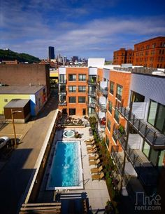 Wow, this pool is unreal! Lot 24 in Pittsburgh, PA.