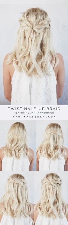 Easy Half up Half down Hairstyles… Easy Half up Half down Hairstyles http://www.fashionhaircuts.party/2017/05/09/easy-half-up-half-down-hairstyles/