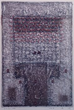 HAYASHI Takahiko (Unknown title), Paper making, painting, collage, 1997
