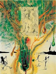 The Emerald Table by Salvador Dali