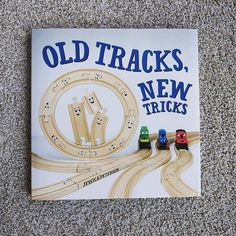 "94 Likes, 61 Comments - Asia Citro, M. Ed (@funathomewithkids) on Instagram: ""💥💥GIVEAWAY💥💥 This is our new favorite picture book -- Old Tracks, New Tricks -- and I seriously…"""