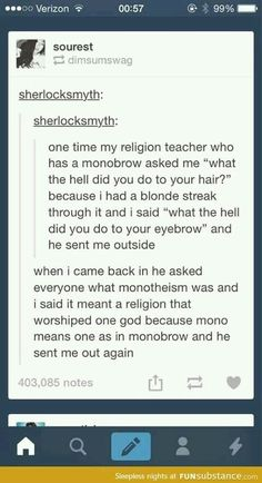 Every time I read it I laugh a little bit harder and I don't know why
