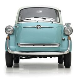 Bmw  isetta the first car I ever owned and drove. Mine was cream colored!