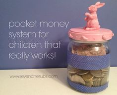 Seven Cherubs: pocket money system for children that really works!