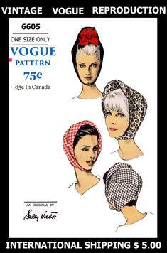 6605 Vintage VOGUE Designer Sally Victor Sexy by APATTERNPEDDLER