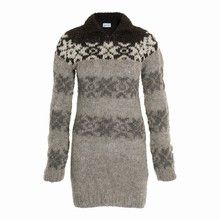 Dress version of Faroese sweater seen on the Killing. $415
