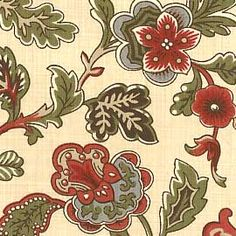 Reproduction Fabrics - turn of the 19th century, 1775-1825 > fabric line: Maison De Garance, $9.50/yd