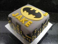 Batman Birthday Cake - cake by Debbie Batman Birthday Cakes, Batman Cakes, Batman Party, Cake Birthday, 5th Birthday, Birthday Ideas, Cake Cookies, Cupcake Cakes, Fondant Cakes