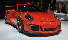 Porsche 911 GT3 RS : une voiture de course sur route : Salon de Genève 2015 : les voitures de luxe et de sport à l'honneur - Linternaute