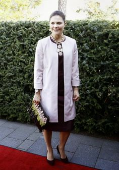 Wednesday, September 17, 2014 Crown Princess Victoria  attended the opening of the exhibition Pompeii at the Millesgarden Art Gallery in Lidingö.