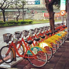 Taipei, Taiwan Bike Share. Visit the slowottawa.ca boards >> http://www.pinterest.com/slowottawa/boards/