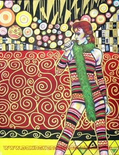 David bowie / # art ...