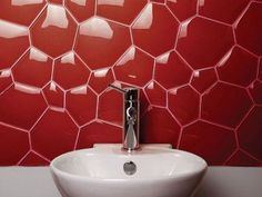 Watercube / Honey comb glass mosaic for wall
