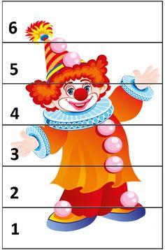 Preschool Circus, Circus Activities, Circus Classroom, Kindergarten Activities, Preschool Activities, Preschool Classroom, Clown Crafts, Circus Crafts, Carnival Crafts