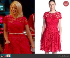 Quinn Fabray Fashion on Glee Quinn Fabray, Rachel Berry Style, Pretty Outfits, Cool Outfits, Glee Fashion, Tv Show Outfits, Sophisticated Outfits, Red Lace, Glee Wedding