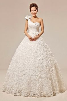 Princess Strapless Wedding Dresses With Diamonds - Missy Dress