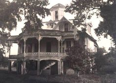 Laurel Ridge Plantation, on the West Bank in White Castle, Louisiana. House was dissembled with the intention of moving it and reassembling it, but unfortunately it was never reassembled.