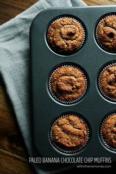 Paleo Gluten-Free Banana Muffins | 26 Delicious Gluten-Free Paleo Friendly Recipes