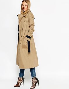 ASOS Mac In Midi Length With Contrast Detail