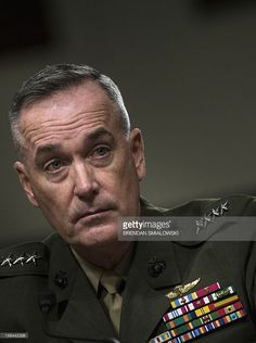 US Marine General Joseph F. Dunford, Jr. listens to a question during a confirmation hearing of the Senate Armed Service Committee on Capitol Hill November 15, 2012 in Washington, DC. The committee called US Marine General Joseph F. Dunford, Jr. to testify at his confirmation hearing to become the next Commander, International Security Assistance Force, and Commander of US Forces in Afghanistan. AFP PHOTO/Brendan SMIALOWSKI