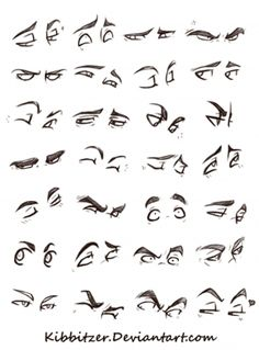 Anatomy Drawing Eyes Reference Sheet by Kibbitzer - Realistic Eye Drawing, Drawing Eyes, Anatomy Drawing, Manga Drawing, Figure Drawing, Drawing Sketches, Drawing Feelings, Drawing Hair, Comic Drawing