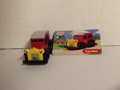 Caroline Car Thomas Friends Wooden Railway Collector Character Car #LearningCurve