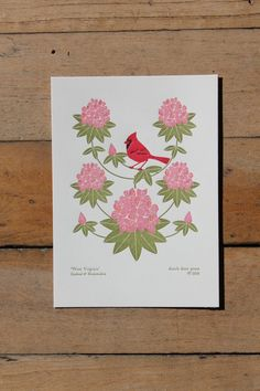 WV birds and blooms of the fifty states