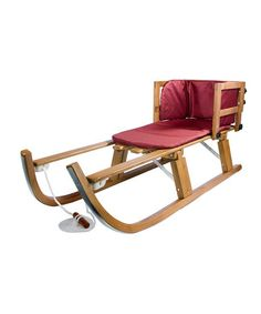 Take a look at this Wood Pull Sled by Lucky Bums on #zulily today!