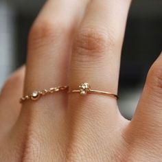 Tenny Tiny Skull Ring