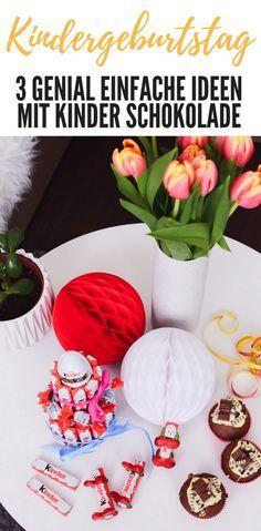Tolle Kinderschokolade Rezepte und Deko Ideen für den Kindergeburtstag. Kinderriegel Männchen basteln als Tischdeko, Kinderschokolade Torte Anleitung und leckere Muffins backen für den Geburtstag oder als Geschenkideen auf Mama Blog www.ineedsunshine.de #anzeige #kinderSchokolade