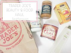 Oh dear, I just love Trader Joe's so much! I mean the taste, the quality and the prices – it doesn't get much better. As I am packing to go back to school (a new school I might add) I've been dying to grab some infamous Trader Joe's products. I don't really like watching or doing hauls (so don't expect them) but I can watch Trader Joe's hauls all day long (no, not really but you catch my drift).... http://www.sarahfarma.com/2015/01/trader-joes-beauty-food-haul.html?spref=tw