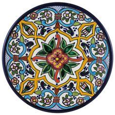 Talavera Salad Plate Pattern 64 Online Discount TH064B