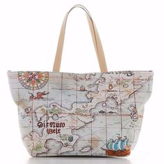 One Piece Samantha Thavasa Collaboration Canvas Bag Japan Limited